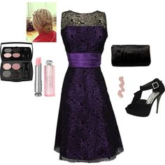 Wedding guest outfit, created by lauren-tabisz on Polyvore