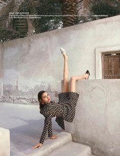 Kiyara Poses in Polka Dot Prints for Vogue India – Fashion Models High Street Fashion, High Fashion Shoots, High Fashion Poses, Fashion Photography Poses, Fashion Photography Inspiration, Glamour Photography, Lifestyle Photography, Art Photography, Style Inspiration