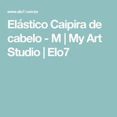 Elástico Caipira de cabelo - M   My Art Studio   Elo7