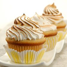 Lemon Meringue Cupcakes: King Arthur Flour