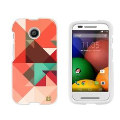 Amazon.com: Premium Protection Slim Light Weight 2 piece Snap On Non-Slip Matte Hard Shell Rubber Coated Rubberized Phone Case Cover With Design For Motorola Moto E XT1021/ XT1022/ XT1025 - Pastel Chevron - White - Retail Packaging: Cell Phones & Accessories