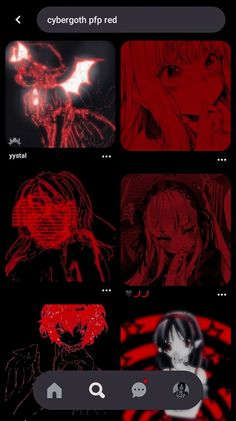 Aesthetic Themes, Aesthetic Images, Aesthetic Stickers, Aesthetic Art, Aesthetic Anime, Aesthetic Wallpapers, Red Aesthetic Grunge, Cybergoth, Cute Icons