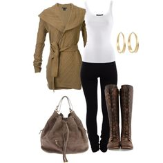 """tie up cardi"" by norynieves on Polyvore"