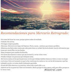 #Mercurio Retro #Tips #Astrology