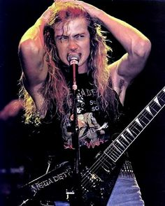 Dave Mustaine-Megadeth............
