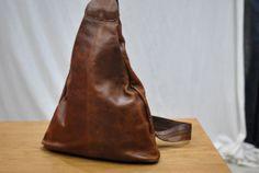 Vintage BOSBOOM Leder Rucksack natürliche Tasche von TheArtofReUSE, $50.00