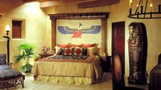 I love this Egyptian room