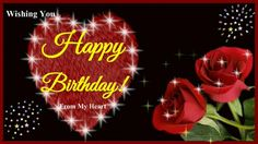 A romantic animated birthday greeting e-card for her/sweetheart