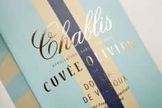 Cuvée Olivier Chablis on Packaging Design Served