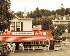 Americana Photograph  Ice Cream Parlor Photo  Coca by cklausen, $26.00