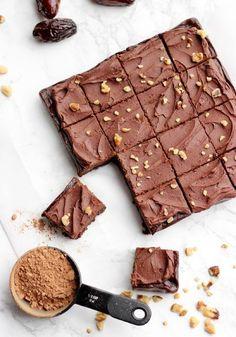 Vegán nyers süti: brownie