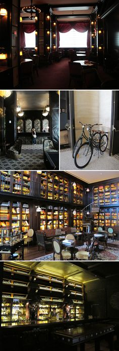 The Nomad hotel and restaurant in New York City