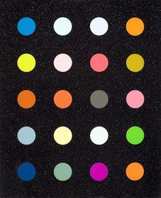 DAMIEN HIRST - METHYLAMINE-13C - GREGG SHIENBAUM FINE ART MIAMI http://www.widewalls.ch/artwork/damien-hirst/methylamine-13c/ #Print