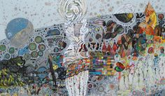 Hussein Salim 250x155cm acrylic