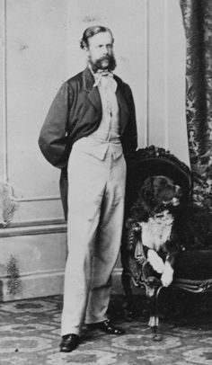 Prince Hermann of Saxe-Weimar, 1863