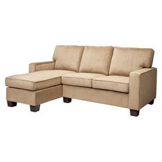 Turner Track Arm Right Chaise Sofa Sectional--A place to curl up for whoever doesn't get the hammock