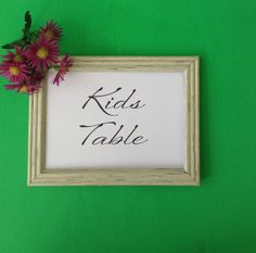 kids table sign diy printable kids activity by overthemoonbridal - Printable Pictures For Kids