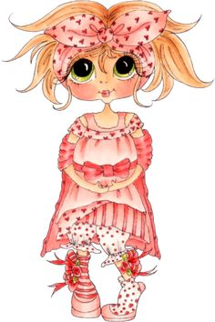 my besties clear stamps hatter Besties, Cute Images, Cute Pictures, Eye Art, Digi Stamps, Copics, Cute Dolls, Colouring Pages, Big Eyes