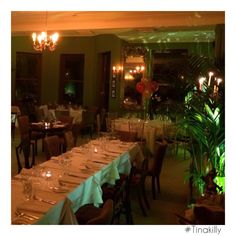 Tinakilly Country House Hotel #Tinakilly #BrunelRestaurant Country House Hotels, Table Settings, Restaurant, Table Decorations, Furniture, Home Decor, Decoration Home, Room Decor, Diner Restaurant