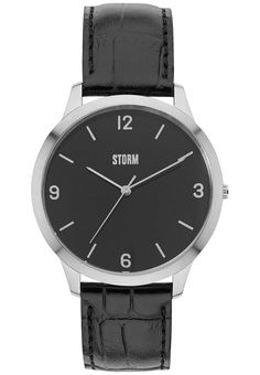The timeless STORM Elwood features a high grade leather croc strap with a  classic brushed stainless steel dial. Water resistant to the Elwood is  available ... a088e2c1ec