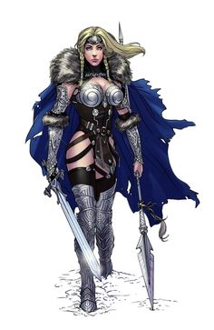 I wished to re-design a Marvel Universe character that I felt was well overdue for an update. Redesign of Marvel Comic's Valkyrie Comic Book Characters, Marvel Characters, Comic Character, Comic Books Art, Fantasy Characters, Female Characters, Comic Art, Marvel Heroines, Fictional Characters