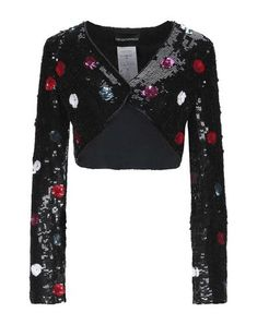 Emporio Armani, Armani Suits, Suit Jackets For Women, Printed Blazer, Jackett, Cute Dresses, Blazers, Bell Sleeve Top, V Neck