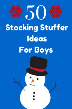 50 of the Best Stocking Stuffer Ideas for Boys Under the age of 10 for Christmas