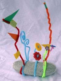 Wire Sculpture for Kids (Inspired by Alexander Calder)