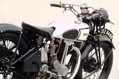 Norton with saddle seat