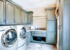 Custom Residence in the Reserve of St. Charles - traditional - laundry room - chicago - by John Hall Homes