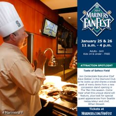 Get a taste of Safeco Field, including new menu items coming to The 'Pen in 2014. #MarinersFF