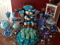 baby shower candy buffet ideas for boy