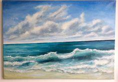 Summer Dream. High quality acrylic painting on canvas. 50 cm (height) x 70 cm (width) x 1.7 cm (depth). 350g Canvas. New. ____________________________________ Summer Dream. Fine acrylic painting on canvas. 50 cm (height) x 70 cm (width) x 1.7 cm (depth). 350g Canvas. New. Motive: