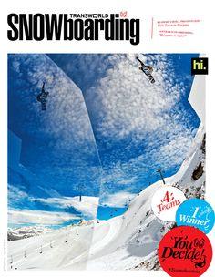 Rider Sage Kotsenburg   Photo Frode Sandbech.   Nike Snowboarding Team Shoot Out Cover 2012 | Transworld Snowboarding
