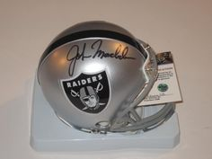 John Madden Oakland Raiders Signed Autographed Mini Helmet with Certificate of Authenticity COA by NFL. $149.99. this item is a new MINI HELMET . the item is hand signed my the player . this item will come  with a Certificate of Authenticity . you will be 100% happy or your money back .