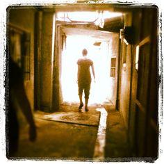 如果前方是光明,就讓我先走吧!  If there is a way, show me please! I like to go first! #light #theway #way #life #emotion #monday #blue #gray - @francoie- #webstagram