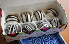 The Capitol Baker: Oreo Truffles They look good and I want to make them