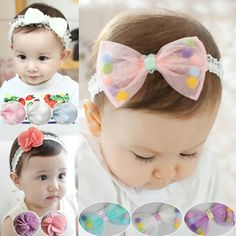 Baby Hair Clips, Baby Headbands, Hair Bows, Baby Girl Accessories, Head Accessories, Baby Crafts, Felt Crafts, Homemade Hair Accessories, Hair Decorations