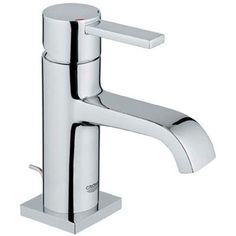 Grohe 23 077 000 Allure Single Hole Faucet - Starlight Chrome - Faucet Depot