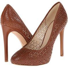 Nine West Nokota High Heels ($89) ❤ liked on Polyvore featuring shoes, pumps, hidden platform pumps, high heel shoes, slip on shoes, floral shoes and floral pumps
