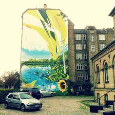 Copenhagen wallpainting