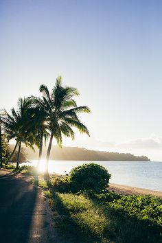 Kauai, Hawaii. We honeymooned here and it's just as they say -- absolutely magical.