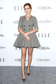 Zoey Deutch - In Dior.