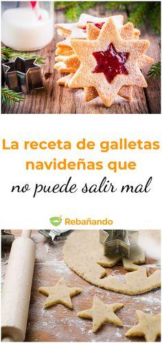 Una receta infalible para la temporada de navidad #galletas #galletasnavideñas #galletitas #cookies #recetasdeliciosas