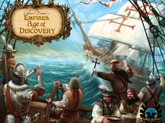 Glenn Drover's Empires: Age of Discovery – Deluxe - Jedisjeux : le site communautaire des jeux de société