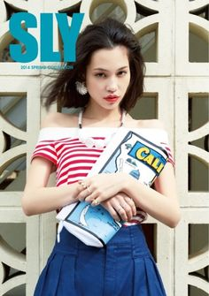 sly 2014 spring collection catalog Kiko Mizuhara 水原希子 SLY