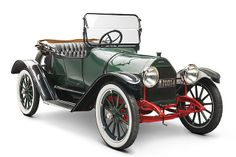 1915 Chevrolet Royal Mail Roadster (top down)