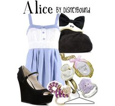 disney inspired outfits | disneybound-disney-movie-inspired-fashion-outfits-alice-in-wonderland ...