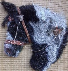 Cool horse head wreath