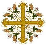 Vintage Ecclesiastical Design 813 Embroidery Design